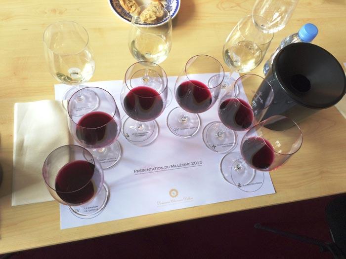 Degustace velkých vín z Bordeaux